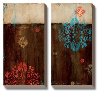 Damask Patterns II-Wani Pasion-Canvas Art Set