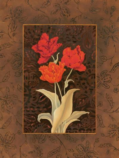 Damask Tulip-Paul Brent-Art Print