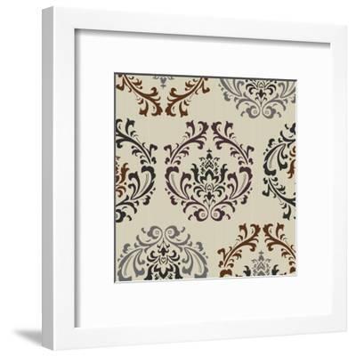 Damask-Diane Stimson-Framed Art Print
