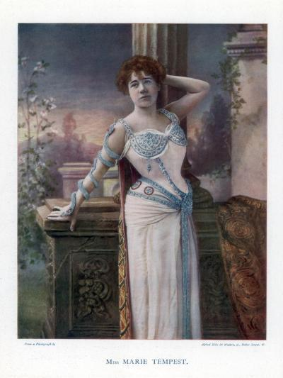 Dame Marie Tempest, English Singer and Actress, 1901- Ellis & Walery-Giclee Print