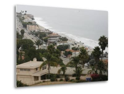 A Portion of the Pacific Coast Highway in Malibu, California, is Shown Monday, July 31, 2006