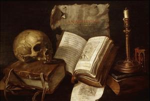 Vanité (Vanitas), 1641 by Damien Lhomme