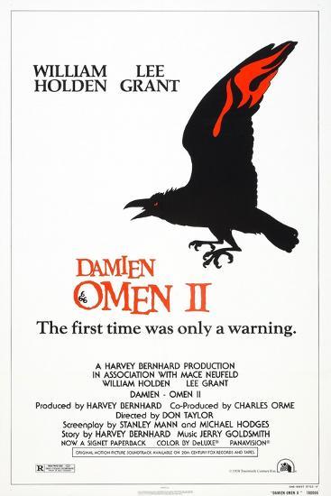 Damien: Omen II, US poster, 1978, TM & Copyright © 20th Century Fox/courtesy Everett Collection--Art Print
