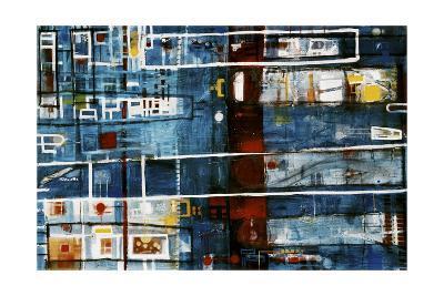 Damiens Push-David Spencer-Giclee Print