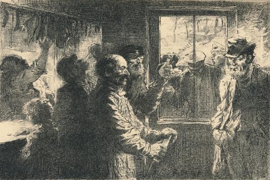 Dammerung, C1887-1898, (1898)-Robert Hermann Sterl-Giclee Print