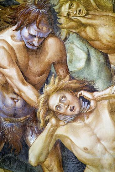 Damned in Hell, from Last Judgment Fresco Cycle, 1499-1504-Luca Signorelli-Giclee Print