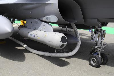 Damocles Targeting Pod Mounted on a French Air Force Rafale Fighter Plane-Stocktrek Images-Photographic Print