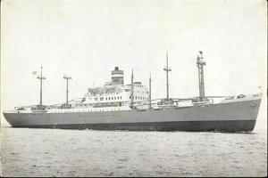 Dampfer S.S. Dinteldyk, Holland America Line