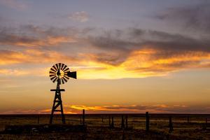 Plains Windmill by Dan Ballard