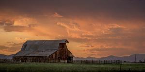 Stormy Barn 02 by Dan Ballard