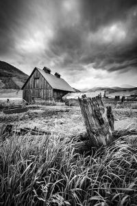 Stormy Barn by Dan Ballard