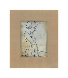 Femme Assise I by Dan Bennion