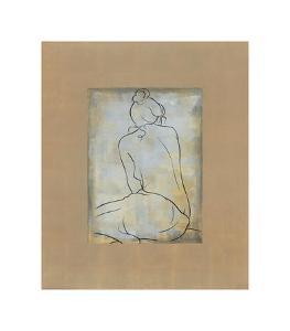 Femme Assise II by Dan Bennion