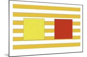 Double Block on Stripe by Dan Bleier