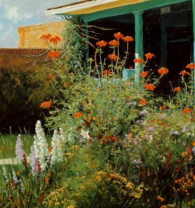 Flower Garden, Santa Fe Opera, 1995