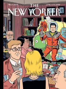 The New Yorker Cover - June 4, 2012 by Dan Clowes