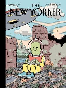 The New Yorker Cover - June 8, 2009 by Dan Clowes