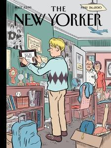 The New Yorker Cover - May 24, 2010 by Dan Clowes