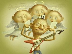 Angel and Punk by Dan Craig