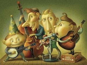 Bluegrass Boy Band by Dan Craig