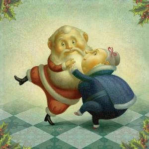 Dancing Santa and Mrs. by Dan Craig