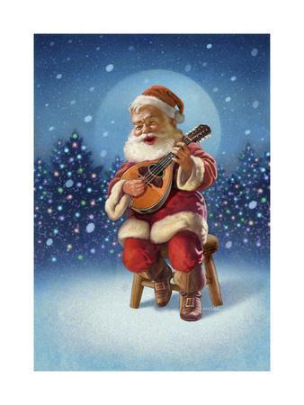 Singing Santa I