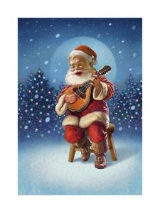 Singing Santa I by Dan Craig