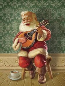 Singing Santa II by Dan Craig