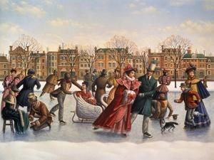 Victorian Skaters by Dan Craig