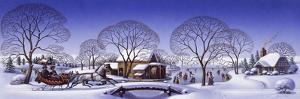 Winter Scene Sleigh by Dan Craig