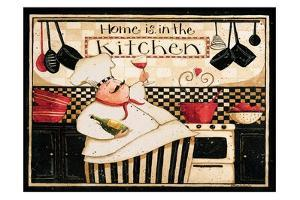 Home Is In The Kitchen by Dan DiPaolo