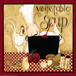 Kitchen Favorites: Vegetable Soup by Dan Dipaolo