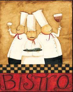 Three Chefs Wine Bistro I by Dan Dipaolo