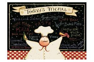 Today's Menu by Dan DiPaolo