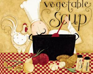 Vegetable Soup by Dan Dipaolo