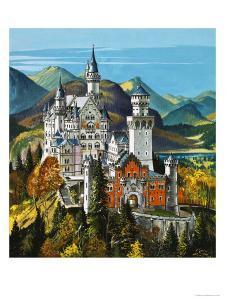 Castle Neuschwanstein by Dan Escott