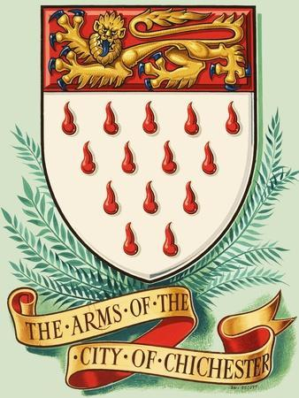 Coat of Arms For the City of Chichester