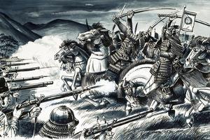 The Battle of Nagashino in 1575 by Dan Escott
