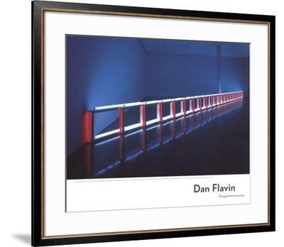 An Artificial Barrier Blue, Red and Blue Fluorescent Light (to Flavin Starbuck Judd)