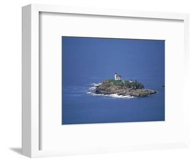 Aerial View of Nubble Light, ME