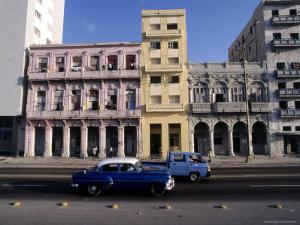 Along the Malecon, Havana, Cuba by Dan Gair