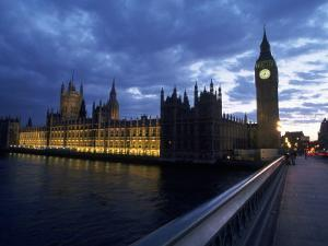 Big Ben, Parliament, River Thames, UK by Dan Gair