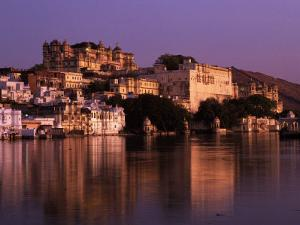 City Palace at Sunset, Udaipur, India by Dan Gair