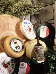 Display of Cheese by Dan Gair