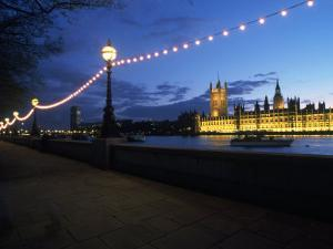 Parliament & Thames River, London, UK by Dan Gair