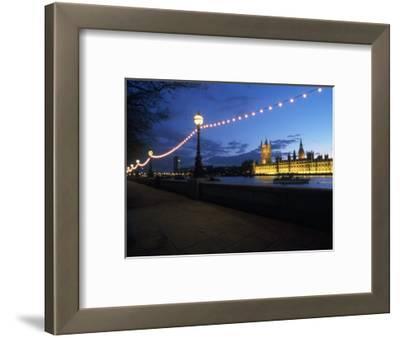 Parliament & Thames River, London, UK
