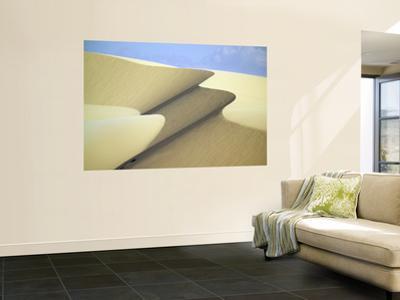Sand Dunes Near Beach Resort City of Mui Ne