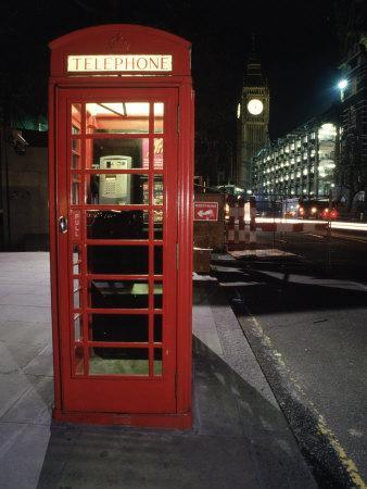 Telephone Booth, London, England