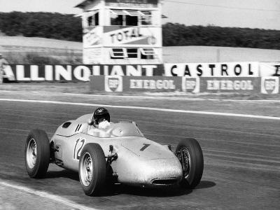 Dan Gurney Driving a Porsche, French Grand Prix, Rheims, 1961--Photographic Print