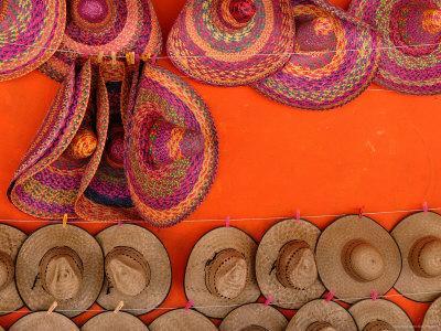 Hats at a Souvenir Stand